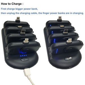 PORTABLE MAGNETIC POWERBANKS (1 SET=5 Chargers)