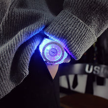 Load image into Gallery viewer, Flashing Led Jelly Watch