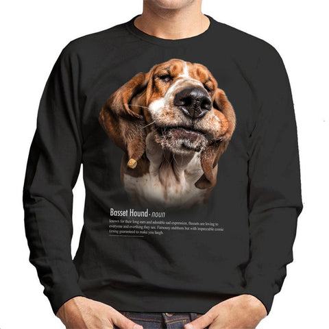 Basset Hound Definition Unisex Sweatshirt