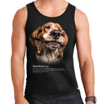 Basset Hound Definition Mens Vest