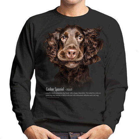 Cocker Spaniel Definition Unisex Sweatshirt