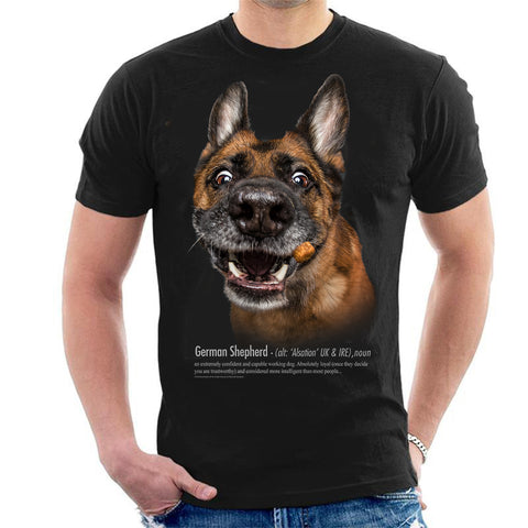 German Shepherd Definition Mens T-Shirt