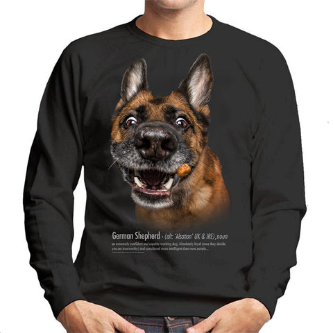 German Shepherd Definition Unisex Sweatshirt
