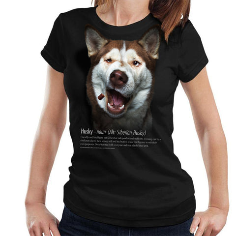 Husky Definition Ladies T-Shirt