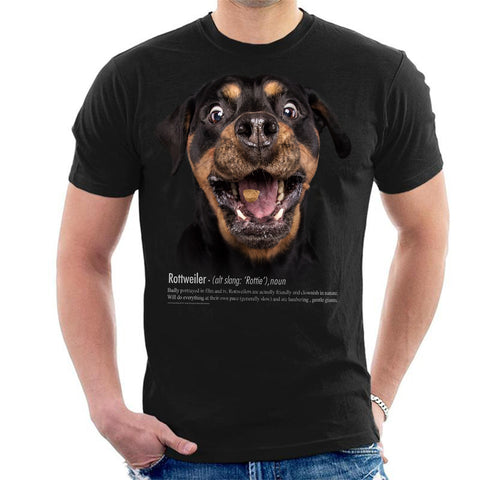 Rottweiler Definition Mens T-Shirt