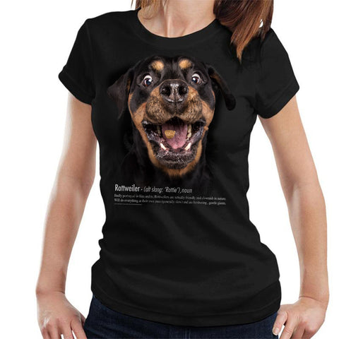 Rottweiler Definition Ladies T-Shirt
