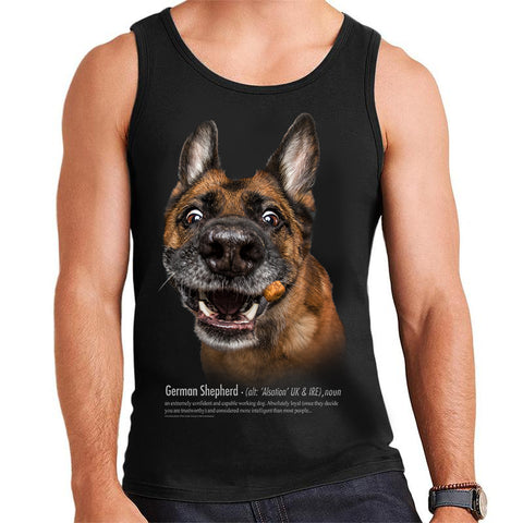 German Shepherd Definition Mens Vest