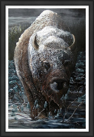 The Trudge: FRAMED PRINT