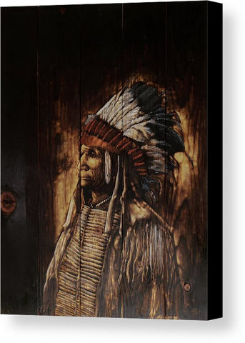 Broken Arm Oglala - CANVAS PRINT