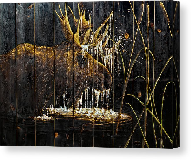 Mountain Marsh CANVAS PRINTS