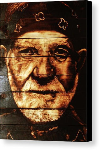 Willie Nelson: CANVAS PRINT
