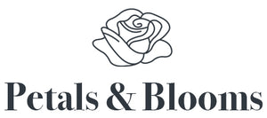 Petals and Blooms Florist Logo