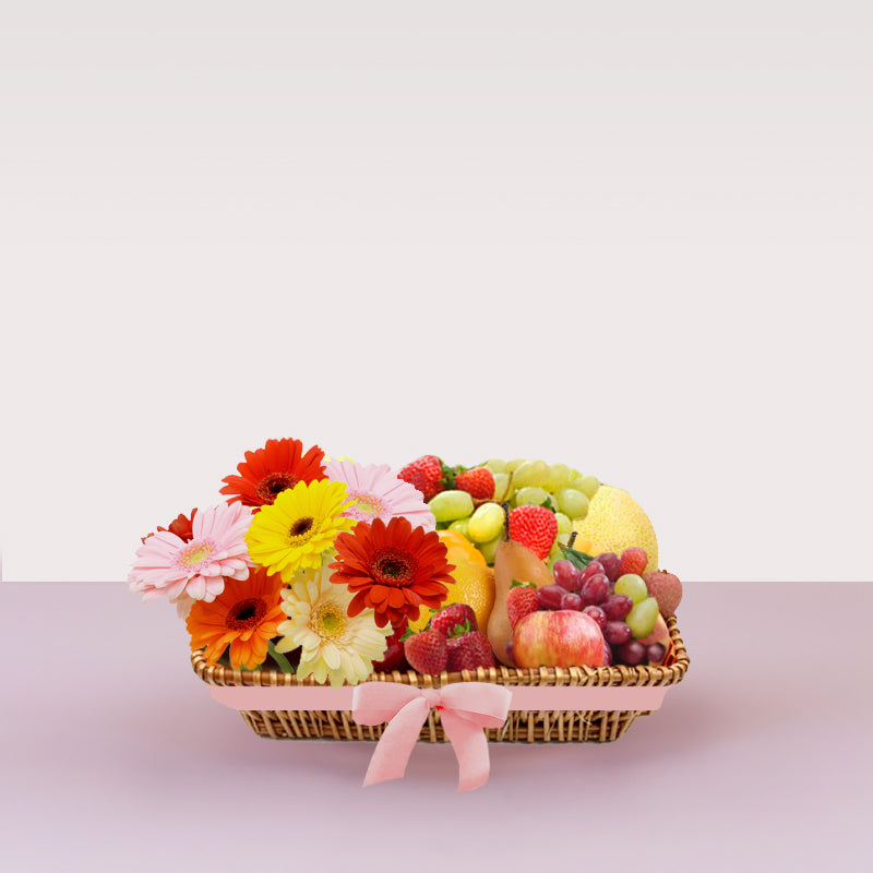 Floral Fruit Basket
