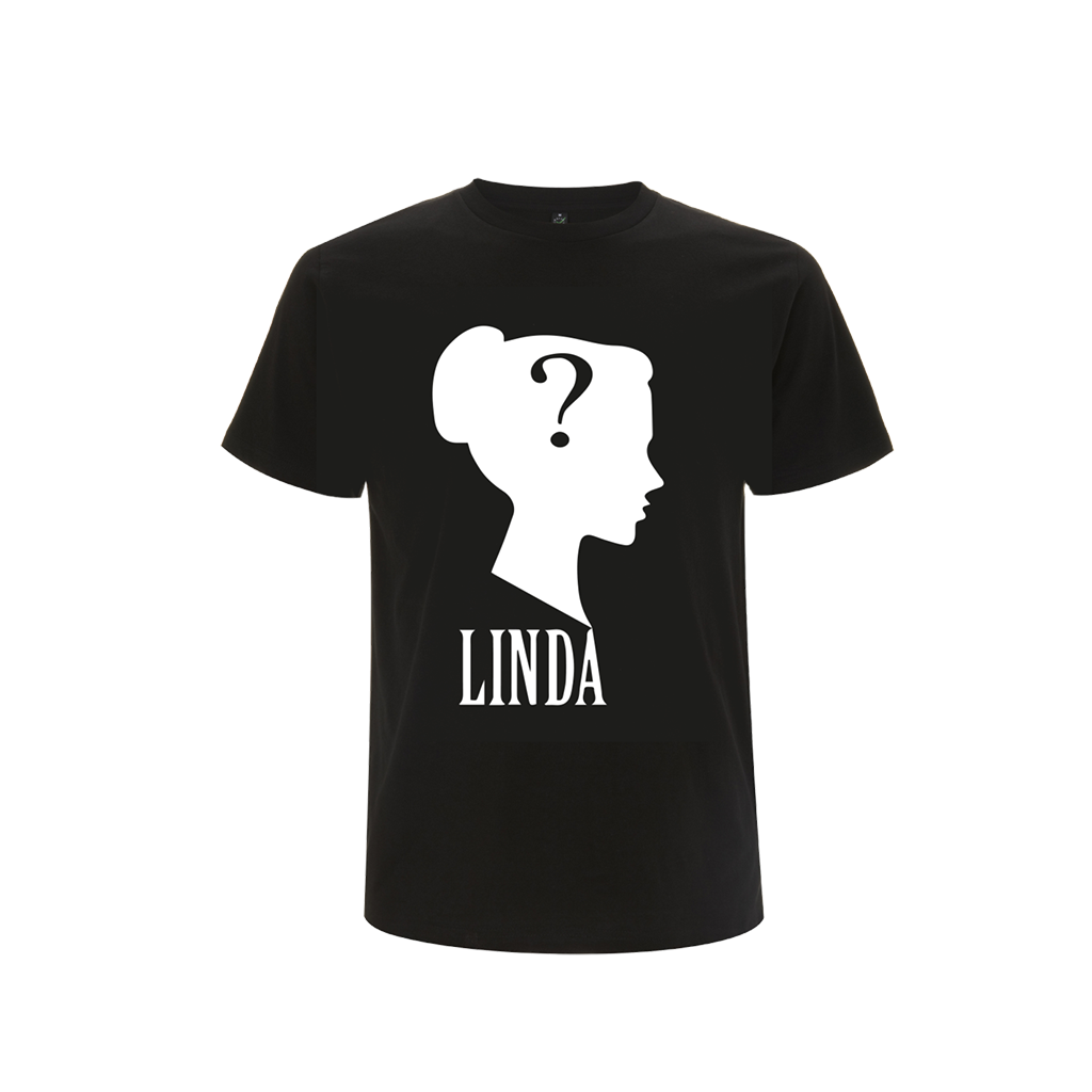 Linda' Black T-Shirt