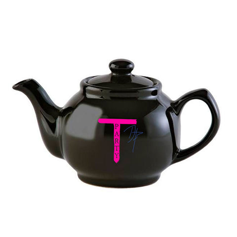 TEA PARTY TEAPOT