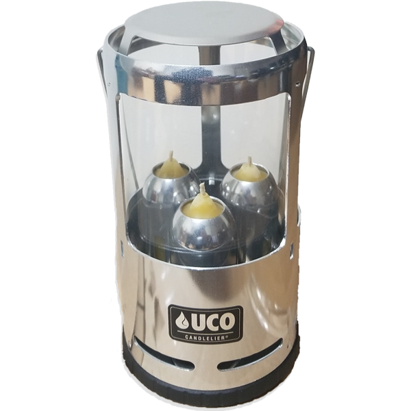 UCO Camping Lantern Silver - Three Candle