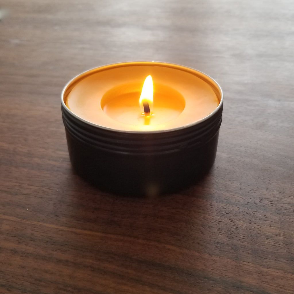 Beeswax Emergency Candle
