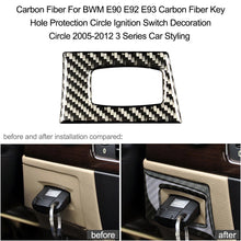Load image into Gallery viewer, Carbon Fiber Key Hole Protection 2005-2012 3 Series