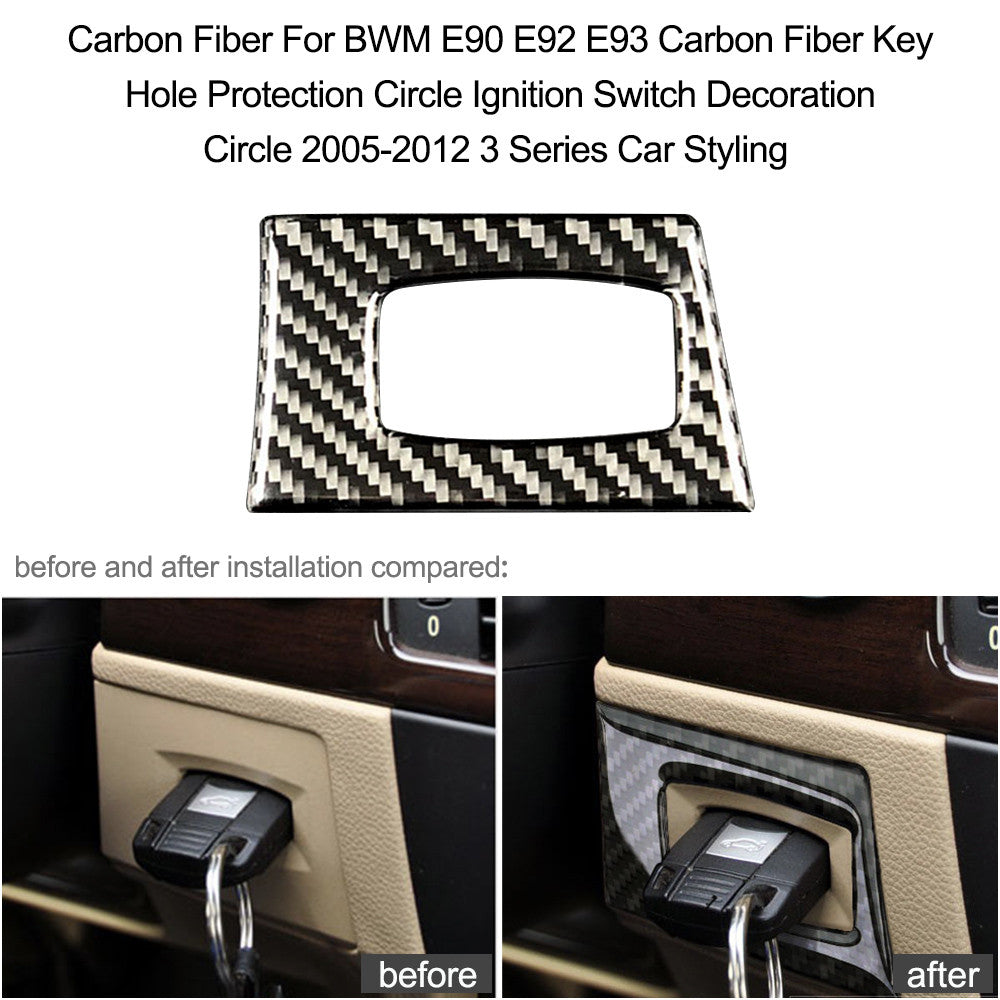 Carbon Fiber Key Hole Protection 2005-2012 3 Series