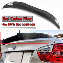 Load image into Gallery viewer, BMW E9X CARBON FIBER TRUNK LID SPOILER