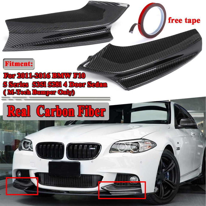 Carbon Fiber Front Splitter for 2011-2016 BMW F10 5-Series
