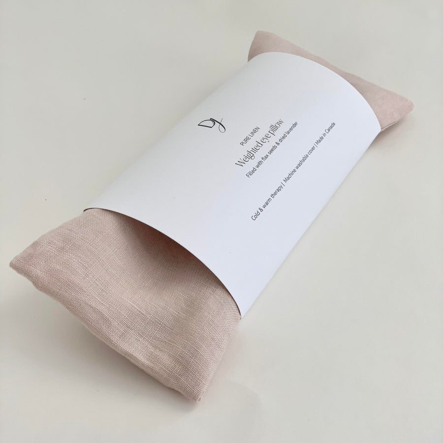 Weighted Eye Pillow in Blush