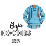 Baja Hoodies Australia Genuine Made in Mexico Surfer Hooded Jackets Jumper Jerga Drug Rug