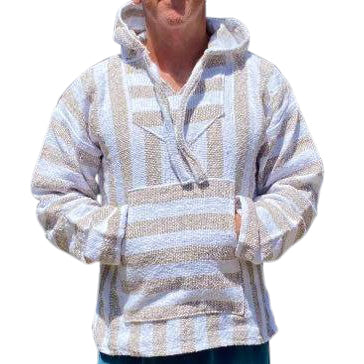 Mexican Surfer Baja Hoodie Light Brown