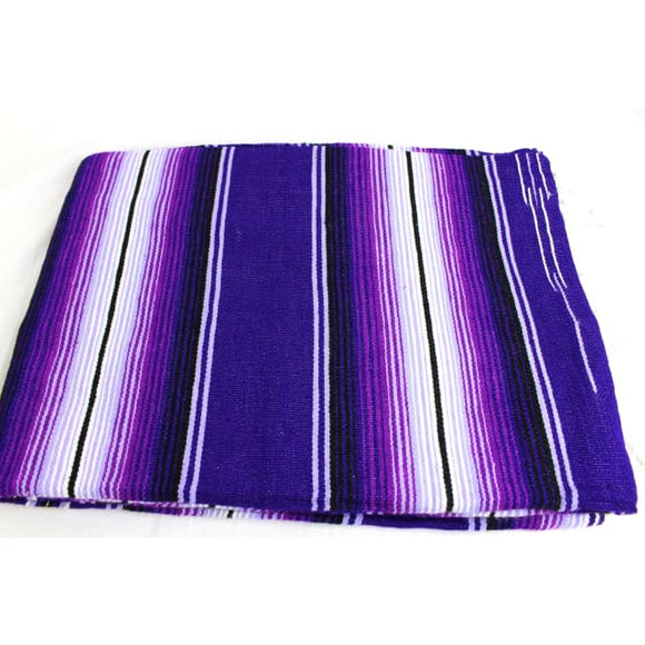 All Purple Mexican Blankets mexican blankets, serapes Baja