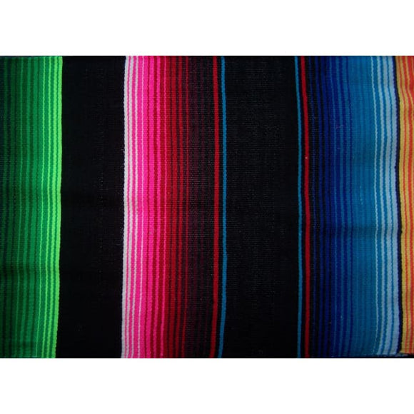 Black Mexican Blankets mexican blankets, serapes Baja