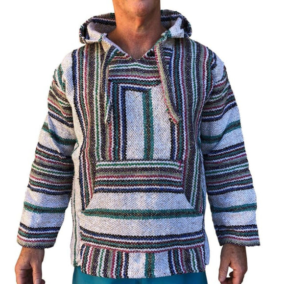 Mexican Surfer Baja Hoodie Earth Multicoloured baja hoodies,
