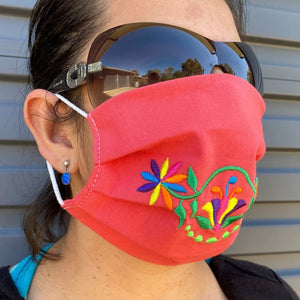NEW: Embroided Face Mask - Made in Mexico - Assorted Designs