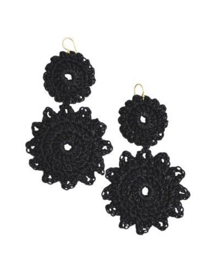 Roberta Roller Rabbit Macrame Earrings