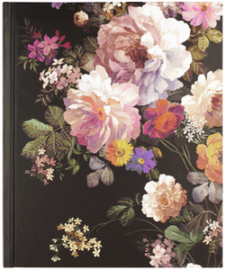 Midnight Floral Journal - The Pearl of Door County