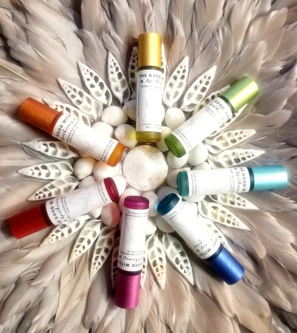 7 CHAKRAS Essential Oil Blends