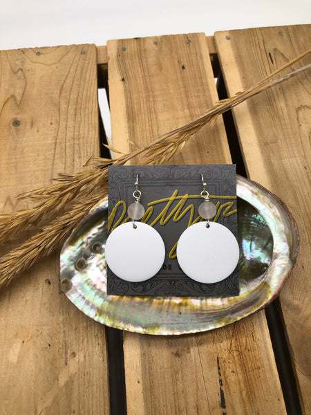 Vintage Lucite Drop Earrings by Prettywar Designs