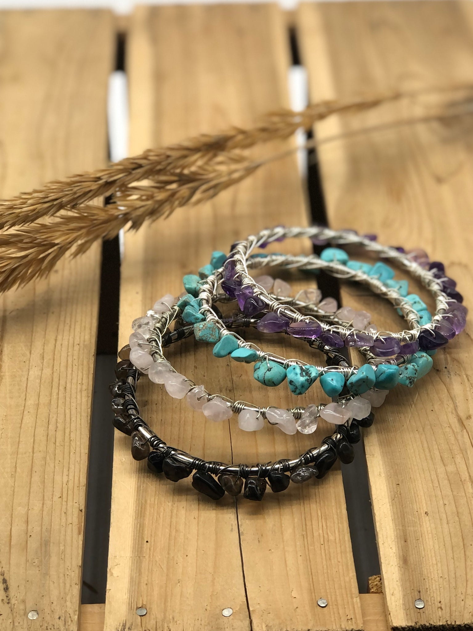 Gypsy Soul Bangles - The Pearl of Door County