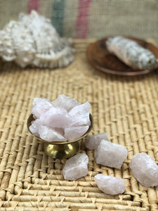 Rough Rose Quartz - The Pearl of Door County
