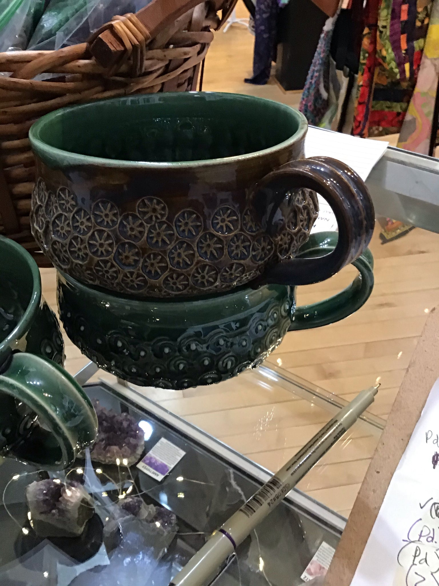 Large Soup Mugs