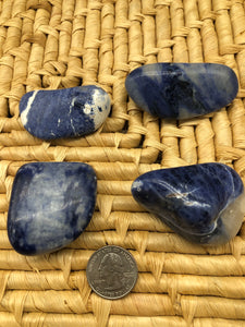Sodalite Palm Stone - The Pearl of Door County