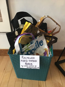 Recycled Feed-Hand Bags
