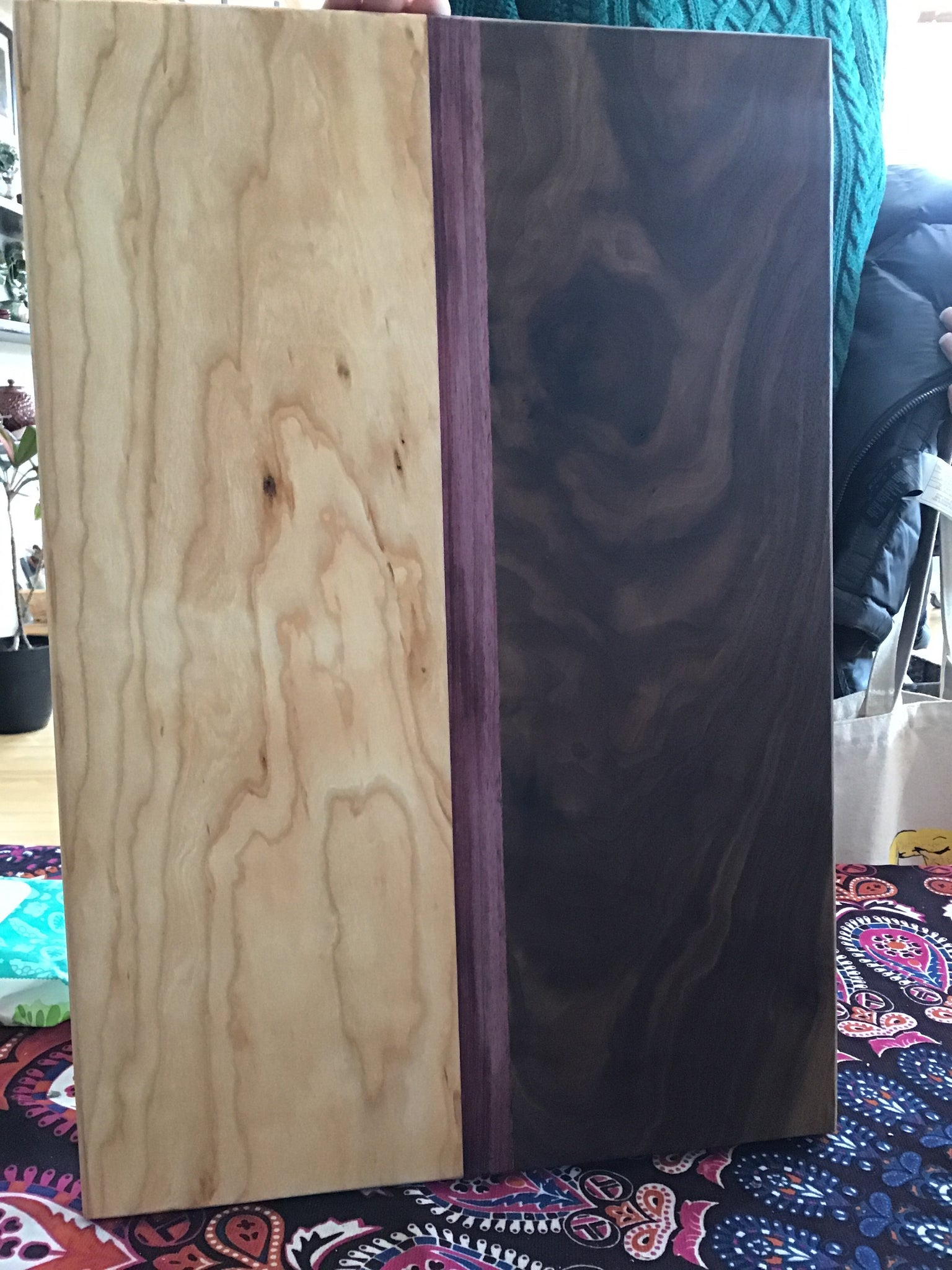 Timber Fusion Board- Black Walnut, Cherry, Padauk