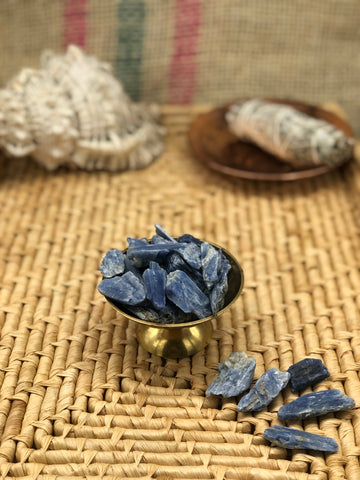 Blue Kyanite Blades - The Pearl of Door County
