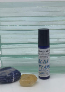 Blue Flame Essential Oil Blend 10ml Rollerball