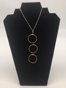 "Chord Jewelry ""Trio"" necklace"