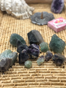 Rough Rainbow Fluorite - The Pearl of Door County