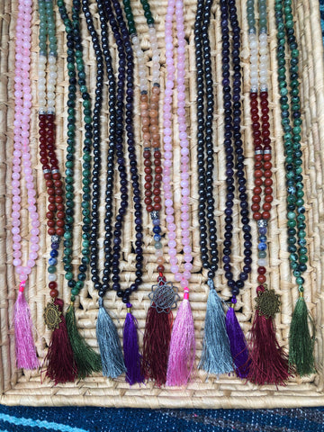 Crystal Mala - The Pearl of Door County
