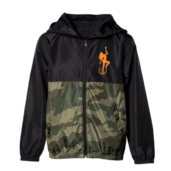 Dirty Hooker Classic Orange Windbreaker