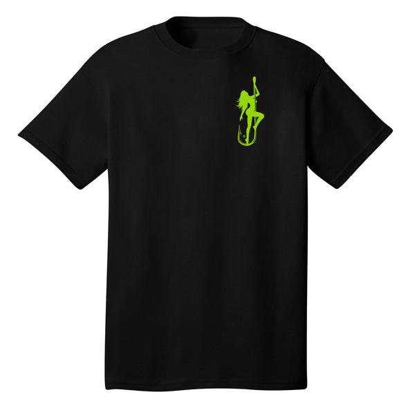 Dirty Hooker Classic Green T-Shirt