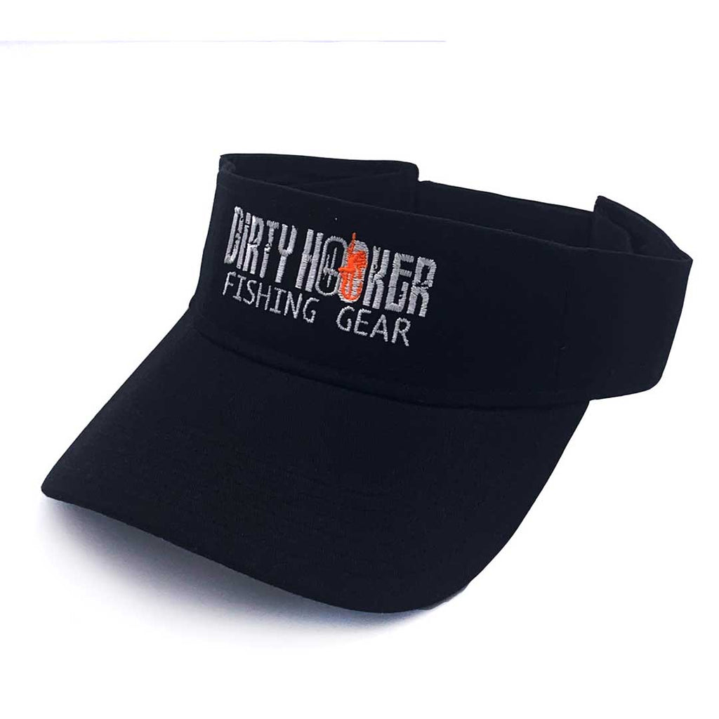 Dirty Hooker Black Visor
